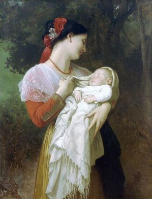 Reproduction du tableau de A. William Bouguereau (1825-1905) par Painting Palace