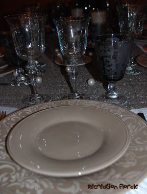 Table marron glacé 8