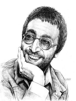 Portrait de John Lennon
