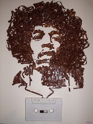 Jimi-Hendrix--Cassette-tape-on-canvas--2008.jpeg