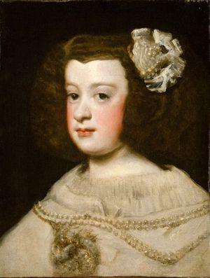 23 Vélasquez 1648 L'infante Marie-Thérèse 1638-1683 Metr