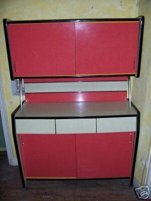Meubles de cuisine en formica des ann es 1950 1960 for Meuble cuisine formica