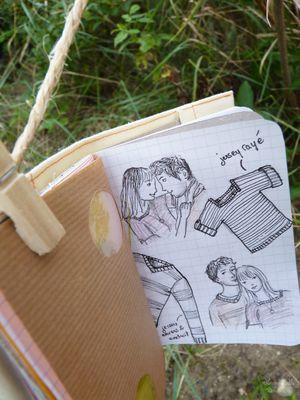 Carnets Odilon Couple Phildar