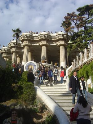 Espagne barcelone parc guell gaudi (15)