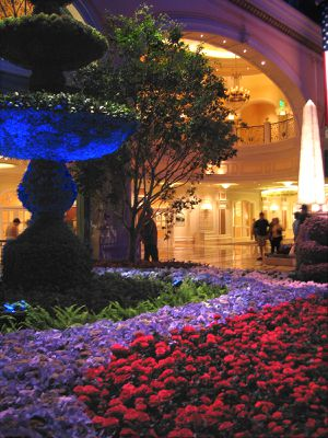 Las Vegas Bellagio jardin 2