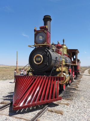 Golden Spike Union Pacific 2