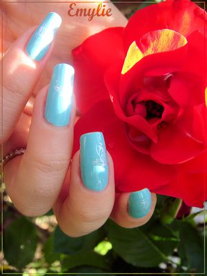 For audrey nail art2