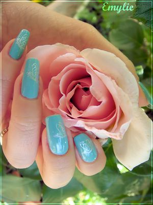 for audrey nail art1