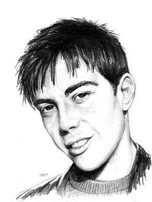 Portrait de Grégory Lemarchal