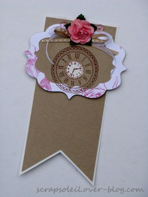 carte + signet rose et kraft (2)