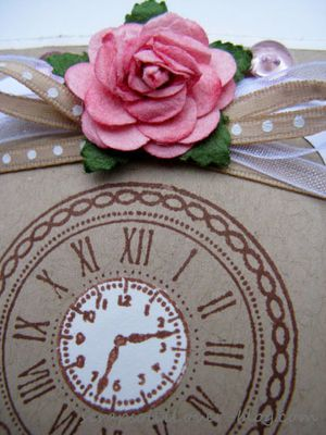 carte + signet rose et kraft (5)