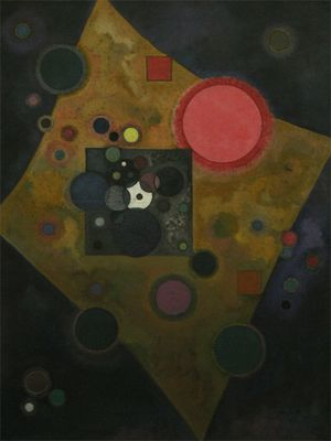 Kandinsky - Accent en rose