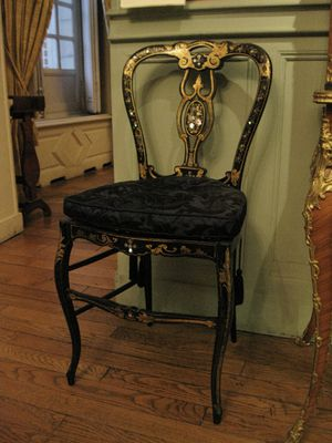 Salon de famille - Chaise