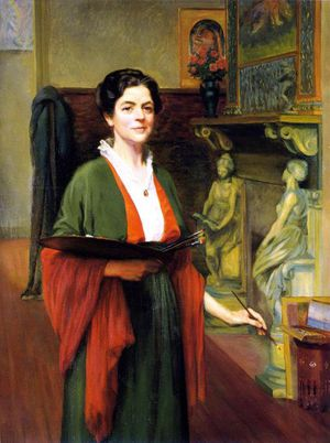 Autoportrait – Margaret Lesley Bush-Brown (1857-1944)