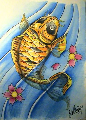 Pin carpe koi tatouage hawaii dermatology on pinterest for Carpe koi aquarium 300 litres