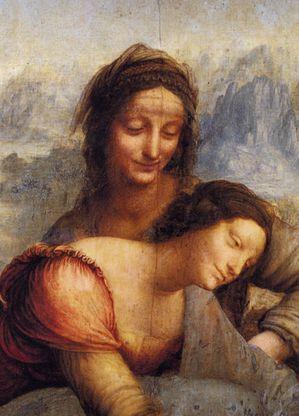 leonard de vinci vierge a l enfant avec sainte ann-copie-1