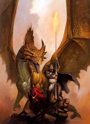 todd lockwood the dragonlance