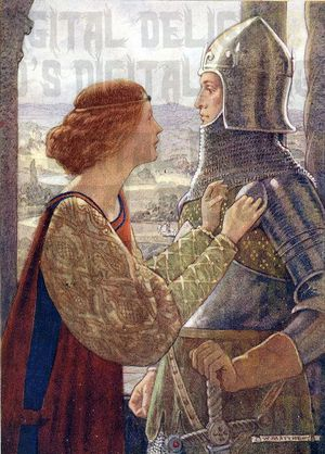 a knight and his lady 9