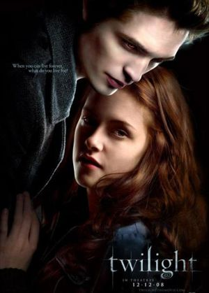 affiche du film Twilight, chapitre 1 - Fascination