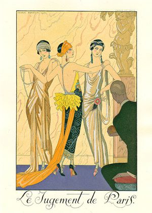 george-barbier Le Jugement de Paris