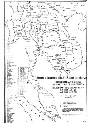 Historical Atlas Of Thailand