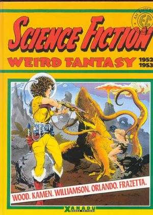 Tags : Science fiction Weird fantasy, bd, bande dessinée, comics, EC Comics, Wallace Wood, Wally Wood, Jack Kamen, Joe Orlando, Al Williamson, Frazetta, contes de la crypte, sf, B. Elder, biographies, Xanadu, Zenda éditions