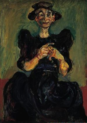 53 Grain Soutine 1924-25 Femme tricotant The Norton Simon F