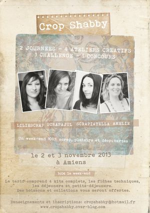 affiche Crop Shabby2