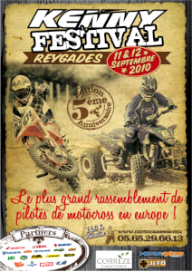 affiche kenny festival 2011