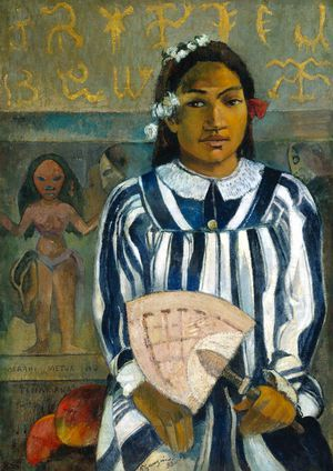 Paul Gauguin-Teha'amana- Art Institute Chicago