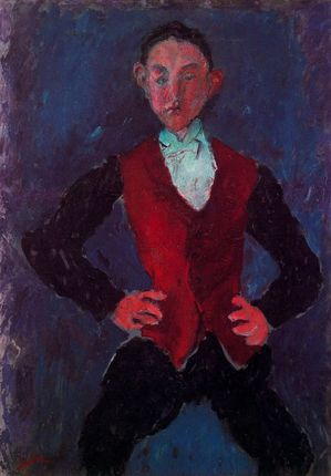 45 Garçon Soutine 1927-28 Portrait d'un garçon National G