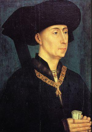 Rogier van der Weyden ortrait de philippe le roi