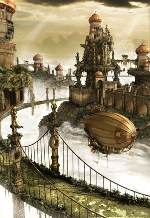 St Steampunk City..