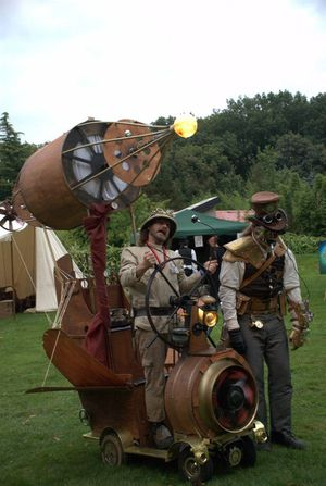 M Steampunk vehicle
