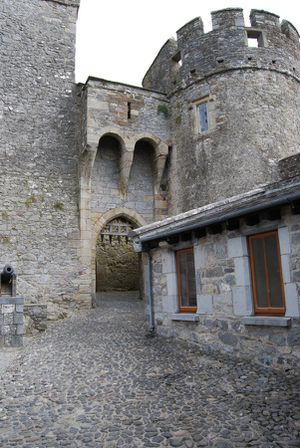 Cahir - visite du Chateau - Irlande - mai 2011 003