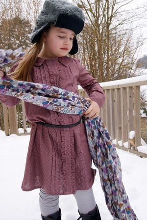 Josephine dress Violette field threads 4
