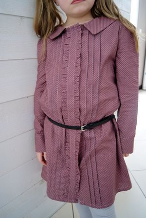 Josephine dress Violette field threads 5
