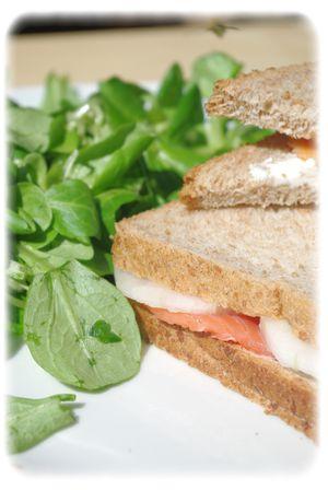 Sandwich au saumon III