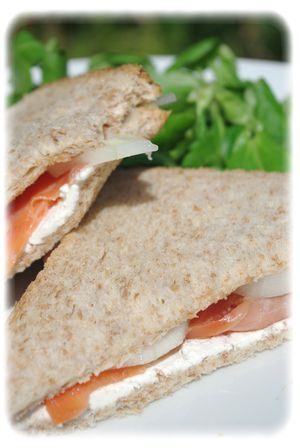 Sandwich au saumon V
