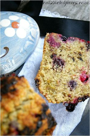 Financier aux Fruits Rouges Duo 200