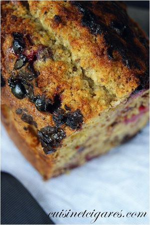 Financier aux Fruits Rouges Duo 2000