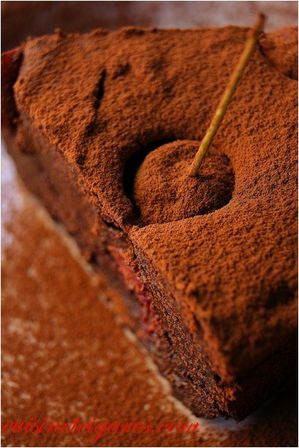 Gâteau Choco lentilles Cerises Duo 20