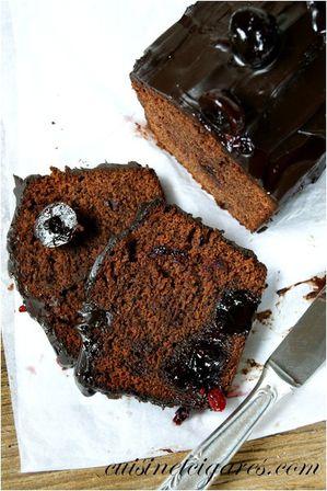 Gâteau très Chocolat et Cerises Duo 20