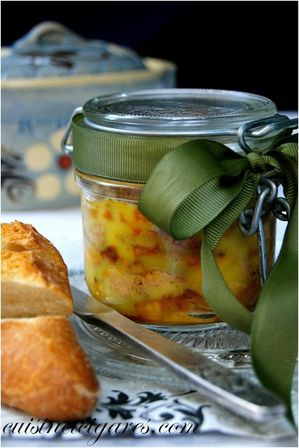 Foie Gras aux Pommes et Safran Duo 1