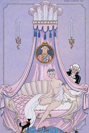 George Barbier (1882 – 1932, French ) The Morning, Erotic