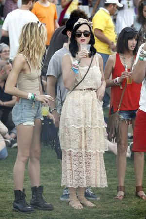 Katy Perry channeling Madonna at Coachella - April 16, 2011
