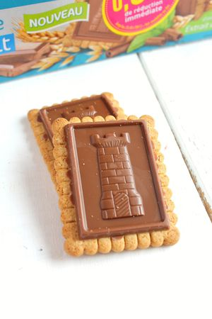 Biscuits tablettes chocolat lait Gayelord Hauser 3#