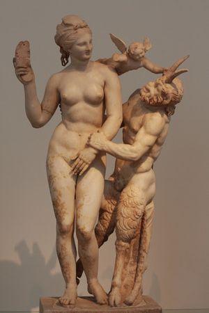 Aphrodite pan et Eros