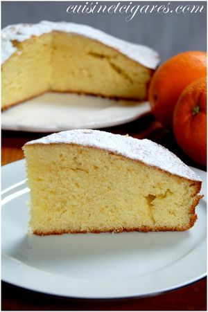 Gâteau à l'Orange Trio 20