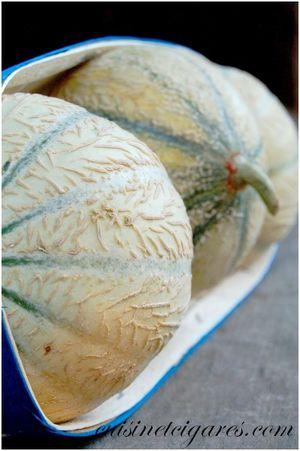 Tajine Melon Pêches Basilic 5